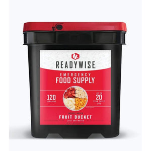 Gluten Free Emergency Freeze Dried Fruit 120 Servings | MRE Kit | Wise Foods-Emergency Food Kits-Solar Sporting Goods