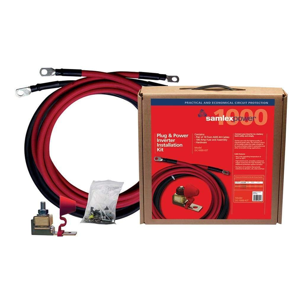Samlex 100A Inverter Installation Kit f-1000W Inverter-Accessories-Samlex America-Solar Sporting Goods
