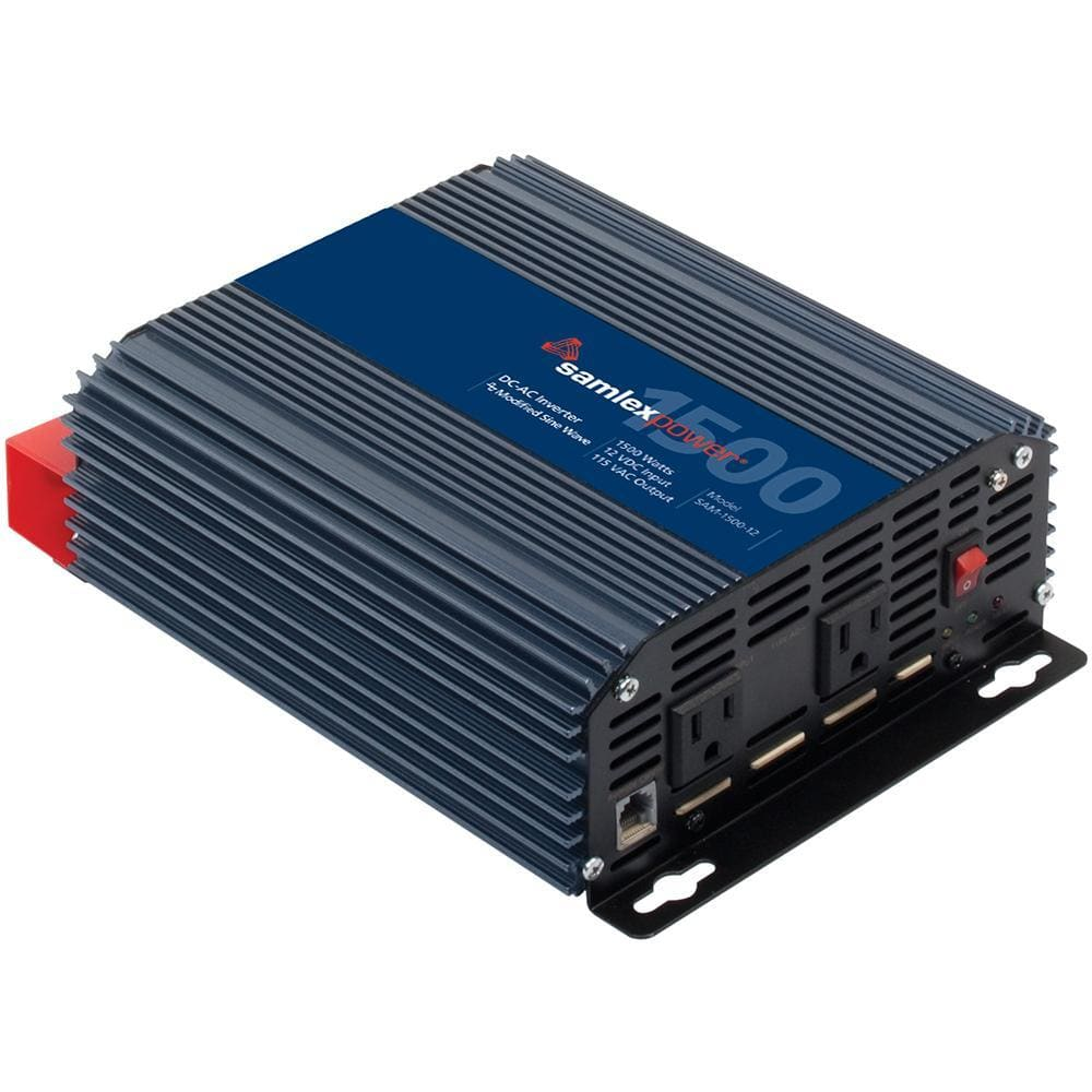 Samlex 1500W Modified Sine Wave Inverter for Solar Panels - 12V-Inverters-Samlex America-Solar Sporting Goods