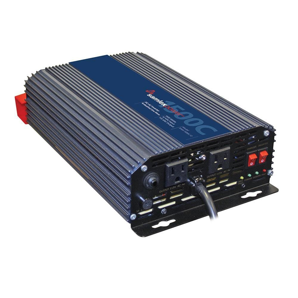 Samlex 1500W Modified Sine Wave Inverter-Switch-Charger - 12V-Charger/Inverter Combos-Samlex America-Solar Sporting Goods