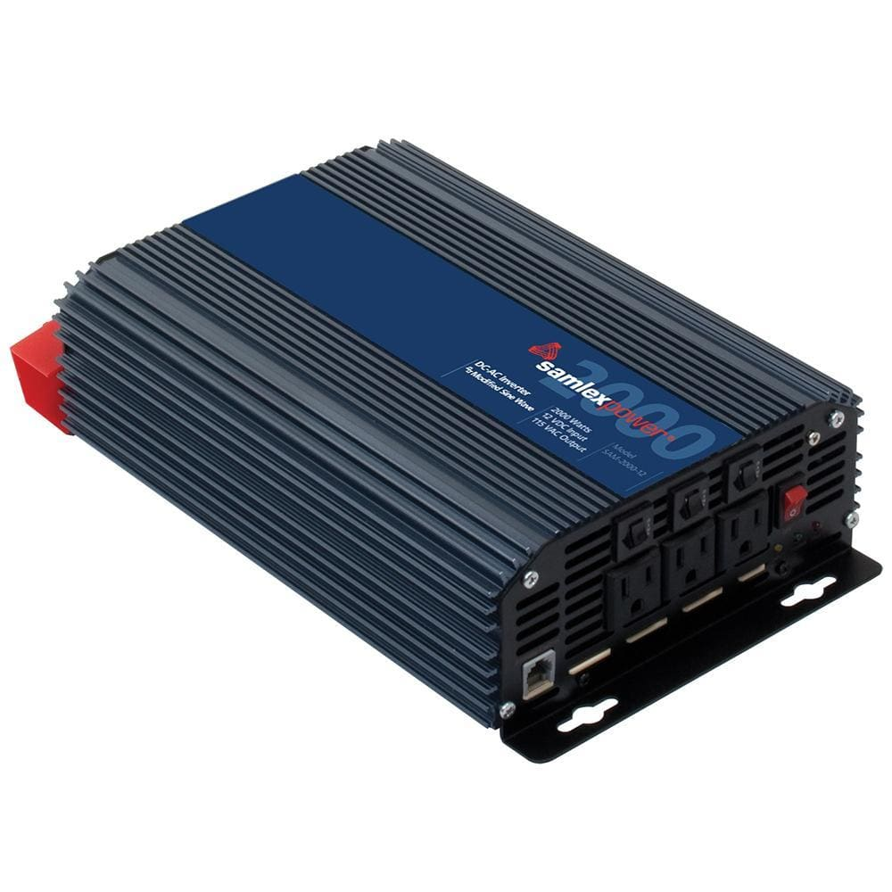 Samlex 2000W Modified Sine Wave Inverter - 12V-Inverters-Samlex America-Solar Sporting Goods