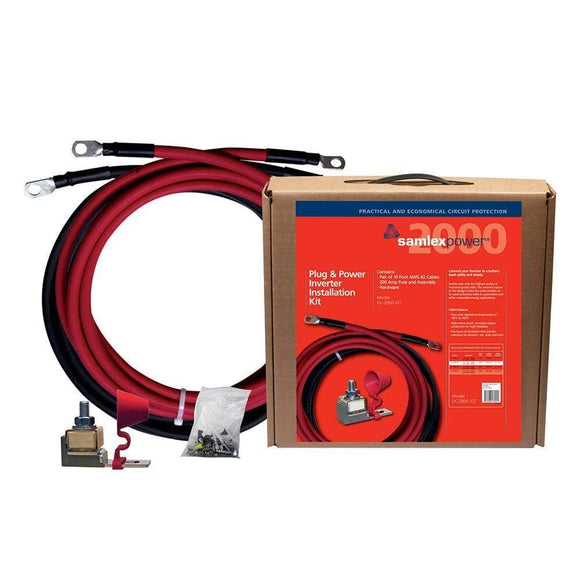 Samlex 200A Inverter Installation Kit f-2000W Inverter-Accessories-Samlex America-Solar Sporting Goods