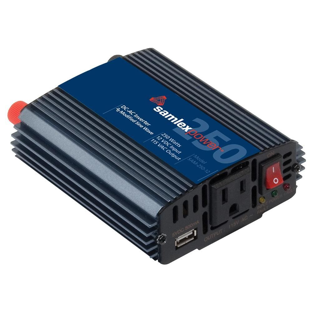 Samlex 250W Modified Sine Wave Inverter - 12V-Inverters-Samlex America-Solar Sporting Goods