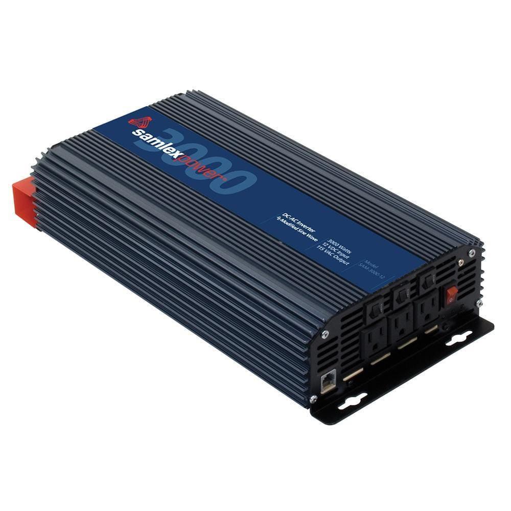 Samlex 3000W Modified Sine Wave Inverter - 12V-Inverters-Samlex America-Solar Sporting Goods