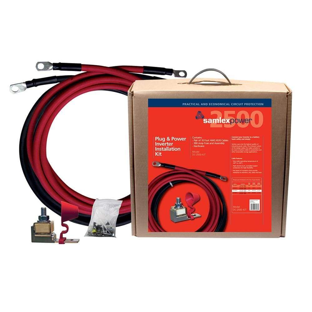 Samlex 300A Inverter Installation Kit f-2500W Inverter-Accessories-Samlex America-Solar Sporting Goods