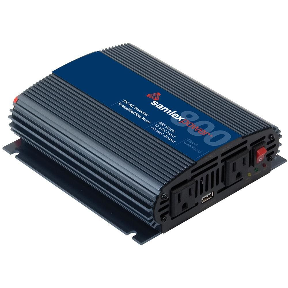 Samlex 800W Modified Sine Wave Inverter - 12V-Inverters-Samlex America-Solar Sporting Goods