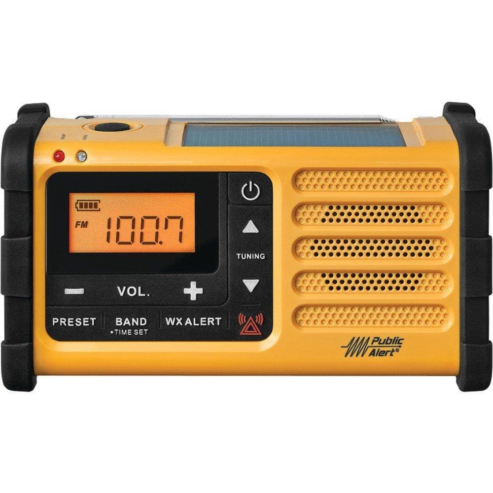 Sangean Off Grid MMR-88 AM/FM Weather Solar Power Crank Radio with USB-Radios-Sangean-Solar Sporting Goods