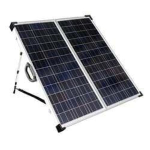 Solarland USA SLP120F-12S 120W 12V Portable Solar Panel Charge Kit-Solar Kits-Solarland-Solar Sporting Goods