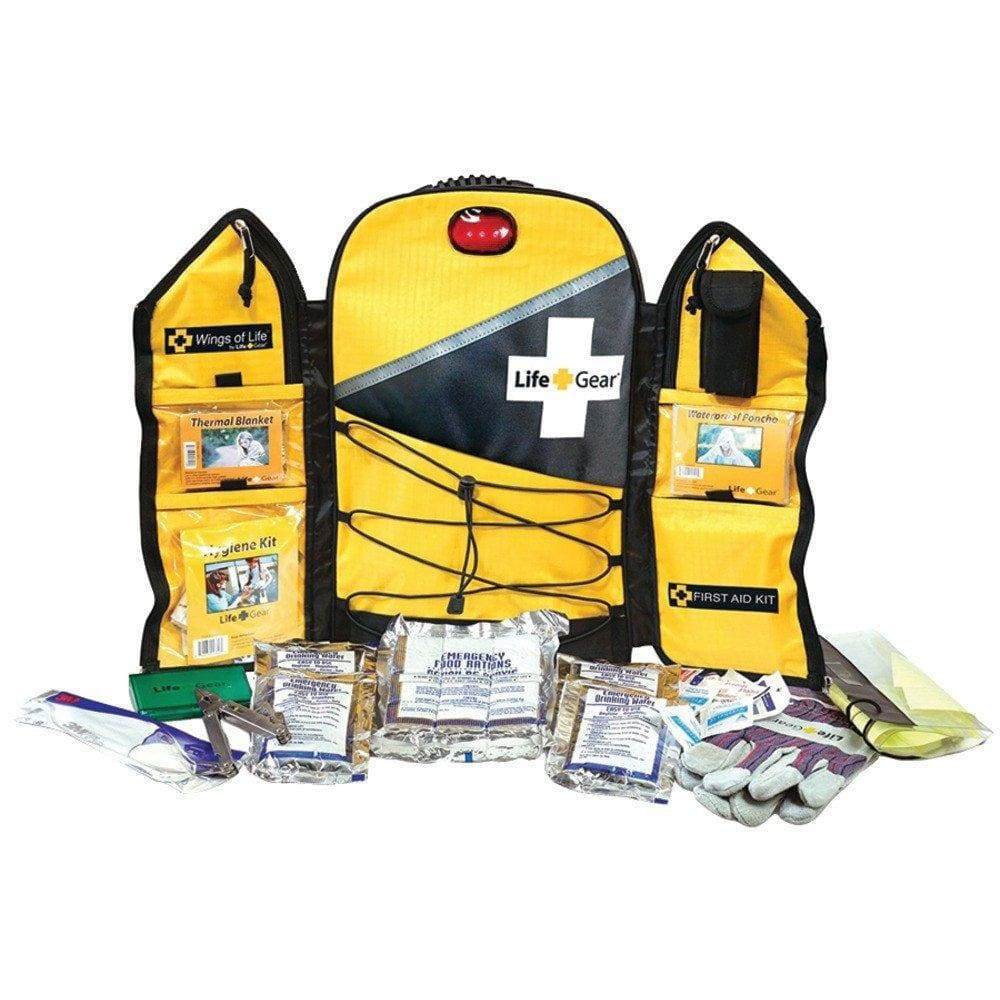 Wings of Life Emergency Preparedness Backpack | Off Grid Survival-Emergency Tools & Kits-Life Gear-Solar Sporting Goods