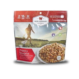 Wise Foods Still Lake Cheesy Lasagna with Sausage 6 PACK-Emergency Food Kits-Solar Sporting Goods