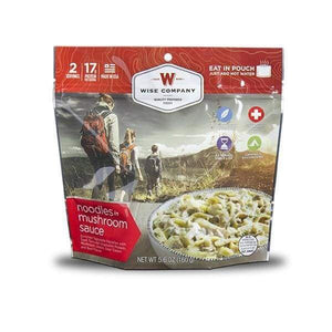 Wise Foods Trailhead Beef Stroganoff Grid Survival 6 PACK-Emergency Food Kits-Solar Sporting Goods