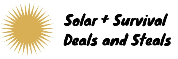 Solar Power + Emergency Survival Promos