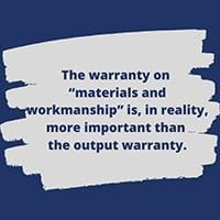 Solar Panel Warranties - Are you really covered?