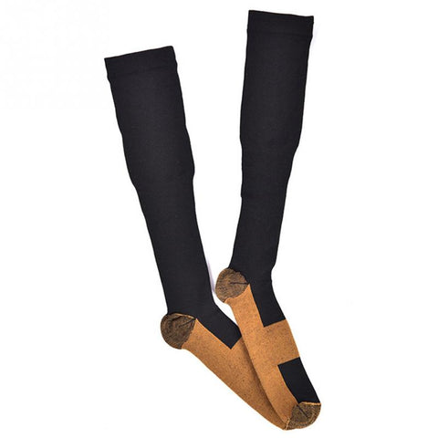 Unisex Shaping Copper Infused Compression Socks