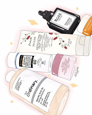 My 4-Step A.M. Skincare Routine