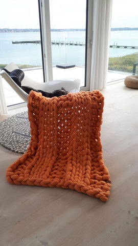 orange cozys blanket