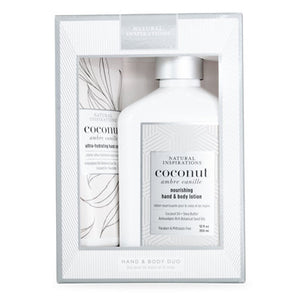 Coconut Ambre Vanille Hand & Body Duo