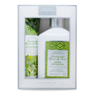 Eucalyptus Rosemary Mint Hand & Body Duo Gift Set