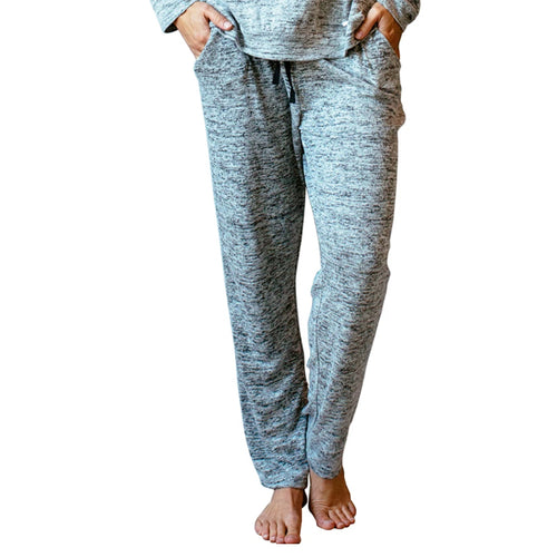 CAREFREE THREADS GRAY LOUNGE PANTS WITH POCKETS