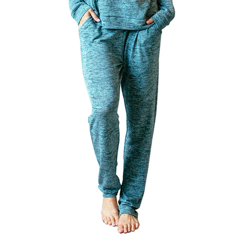 CAREFREE THREADS MINT LOUNGE PANTS WITH POCKETS