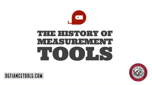 The History of Measurement Tools