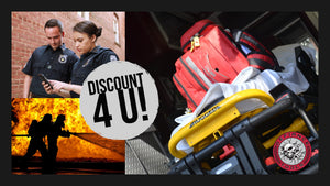 Law Enforcement, Fire & First Responder Discount!