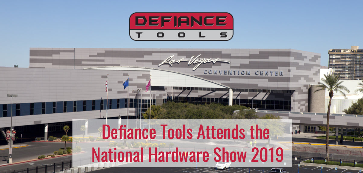 Defiance Tools attends the National Hardware Show 2019