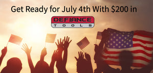 Get Ready for July 4th With $200 in Defiance Tools