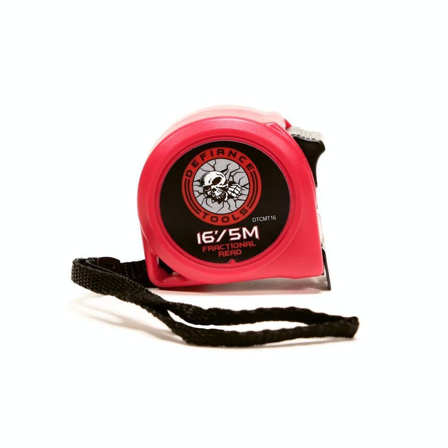 Defiance Tools 16'/5m Compact Tape Measure display