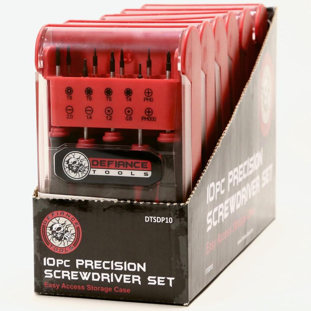 Defiance Tools Precision Screwdriver Set display