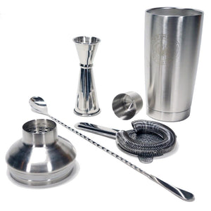 Professional Cocktail Mixologist Set - Shaken