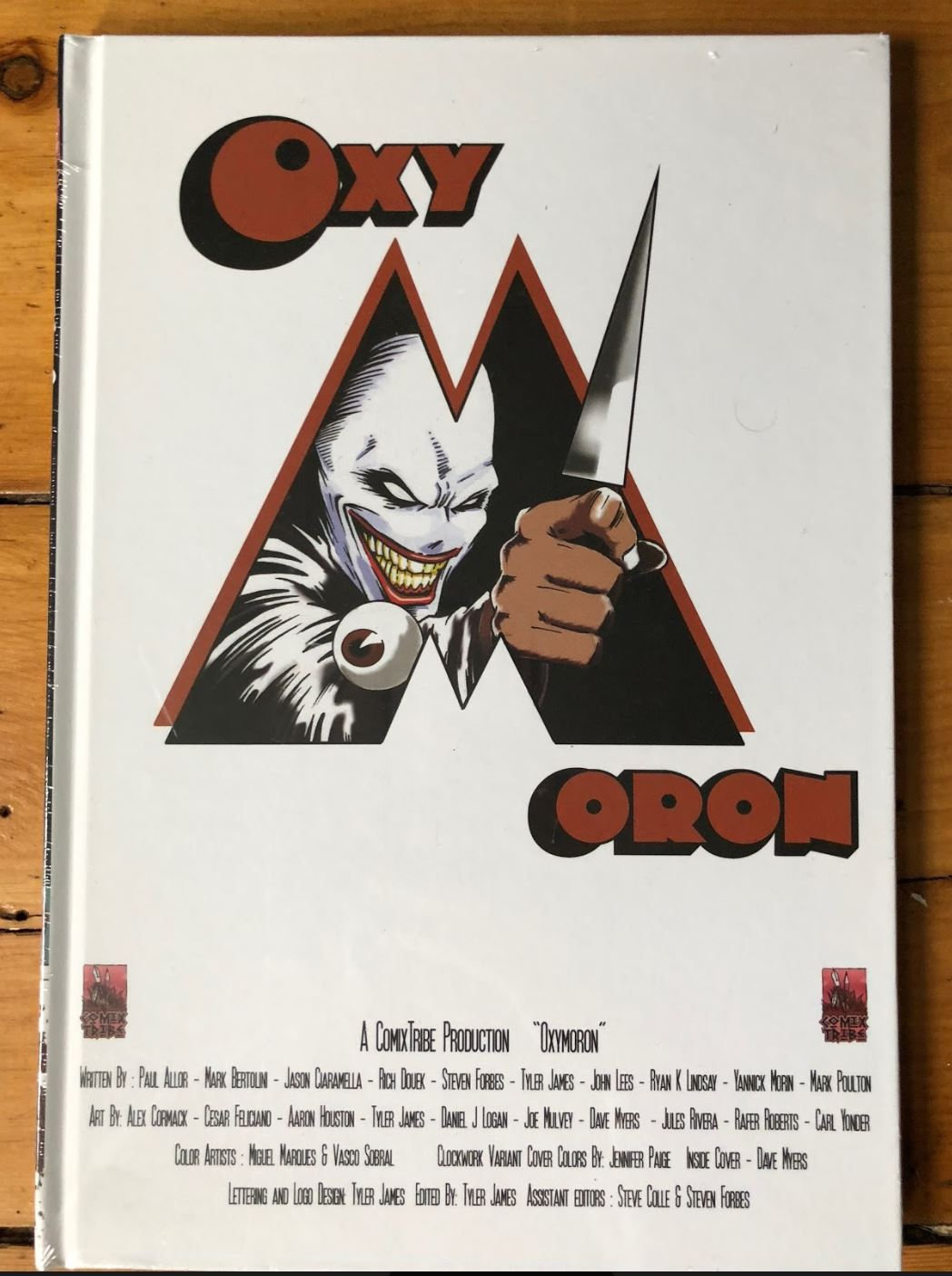 Oxymoron Volume 1 Hardcover [LIMITED EDITION VARIANTS]