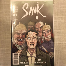 SINK #1 Limited Edition Variants