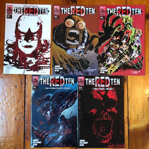 The Red Ten Vol 2. Set [Contains THE RED TEN #6-10]