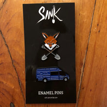 SINK Volume 1 Limited Edition Enamel Pin Set (Van & Dig)