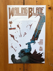 THE WAILING BOX - Includes All 10 Covers + Awesome Collectibles (Only 20 Available)