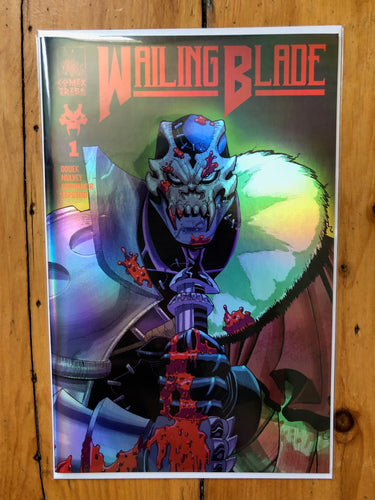 WAILING BLADE #1 - Limited Edition Variants