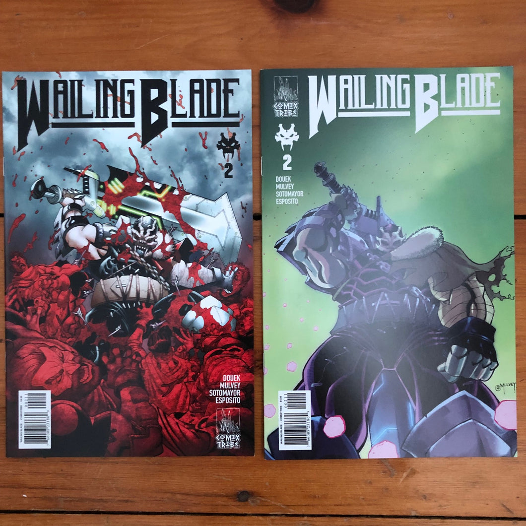 WAILING BLADE #2 - AB Sets [First Printing]