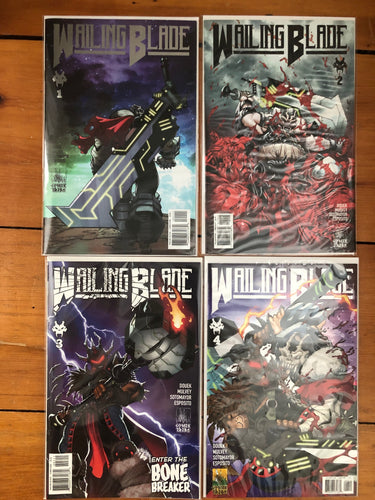 WAILING BLADE #1-4 Single Issue Set ⚔️ Complete