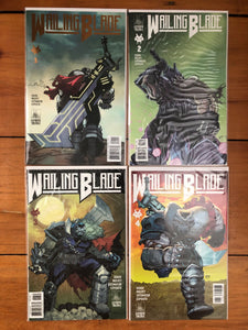 "WAILING BLADE #1-4 Single Issue Set ⚔️ Complete ""HEADTAKER"" Arc"