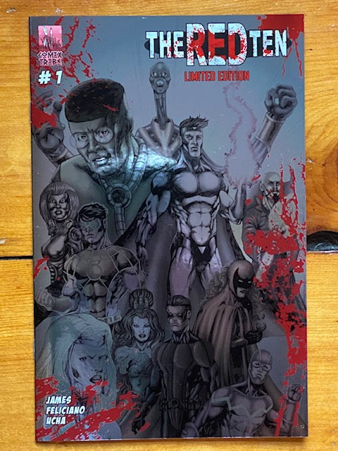 THE RED TEN #1 Metallic Foil Blood-Stained Variant [Limited to 100]
