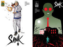 "SINK #7: ""Lead Balloon"" - First Printing A/B Cover Sets"