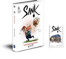 SINK Vol 1: Welcome to Glasgow - Crime Horror Graphic Novel
