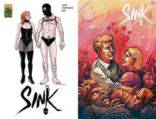 "SINK #10: ""BedBug"" - First Printing A/B Cover Sets"