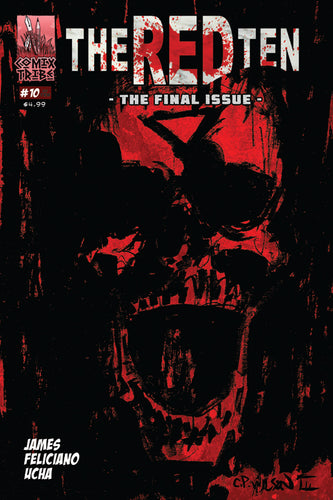 THE RED TEN #10 of 10 - Final Issue!