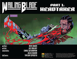 WAILING BLADE #1 - AB Sets [First Printing]