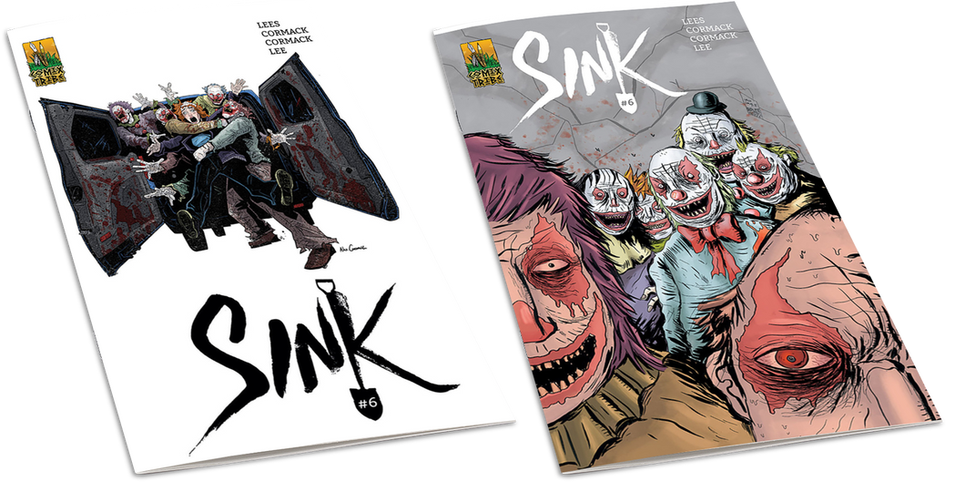 SINK #6 Sets - First Printing