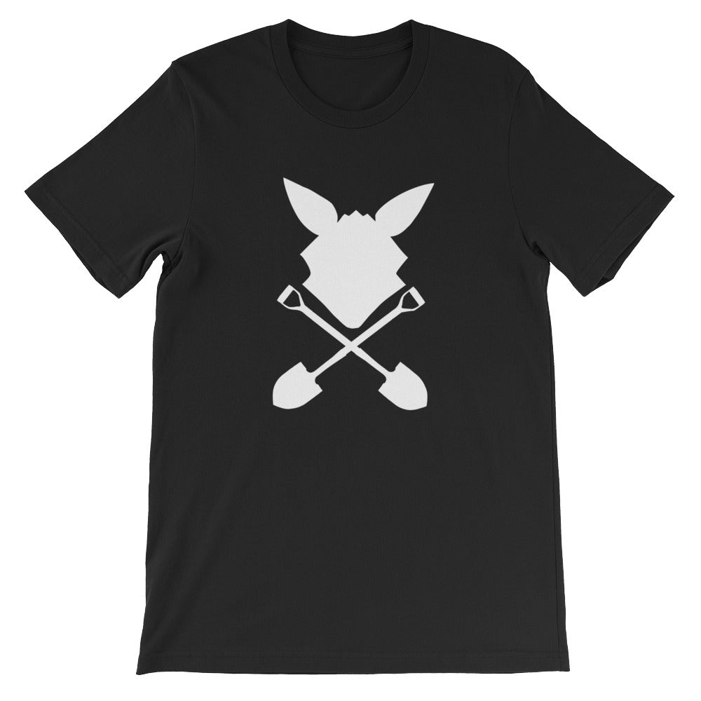 SINK Mr. Dig Cross-Shovel T-Shirt BLACK [Limited Edition]