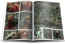 SINK Vol 2: Blood & Rain - Crime Horror Graphic Novel