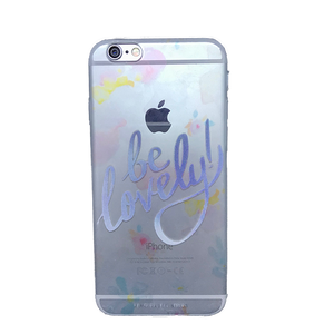 Funda para celular iPhone - Be lovely